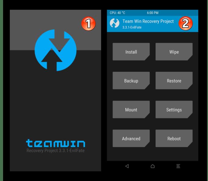 Meizu M5 Note запуск рекавери на смартфоне после прошвки этого модуля через SP Flash Tool