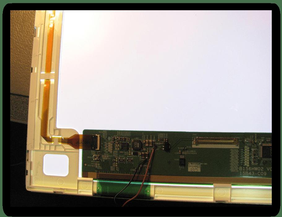 Подсветка матрицы для решения проблемы туского экрана на ноутбуке