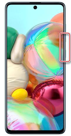 Принудительная перезагрузка Samsung A71