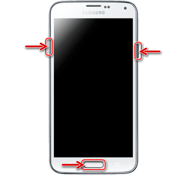 Samsung Galaxy S5 перевод смартфона в режим Download (ODIN MODE)