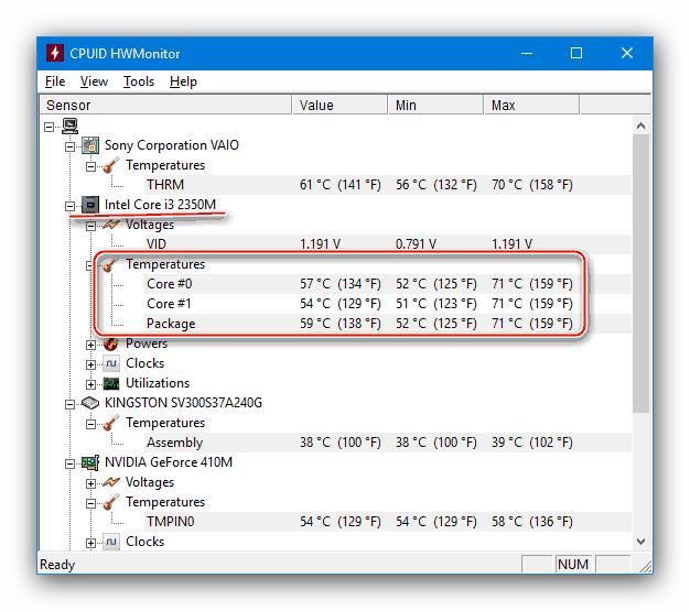 Узнать температуру процессора чтобы устранить проблему с самопроизвольным отключением компьютера в процессе игры