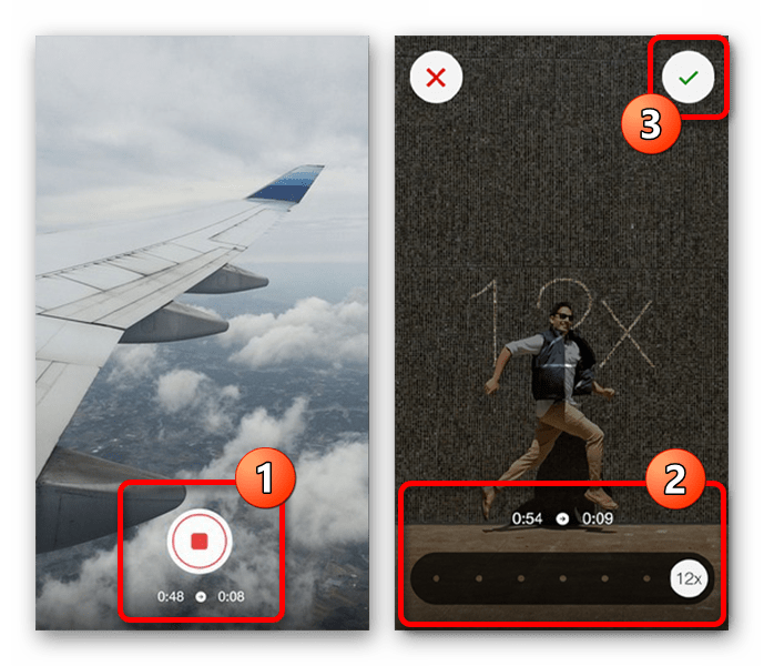 Возможность сохранения ускоренного видео для Instagram в приложении Hyperlapse