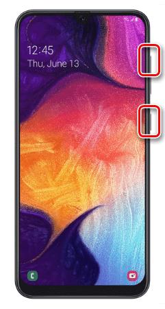 Загрузка Samsung A50 в Recovery Mode