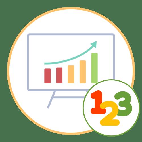 Как построить диаграммы по числовым данным