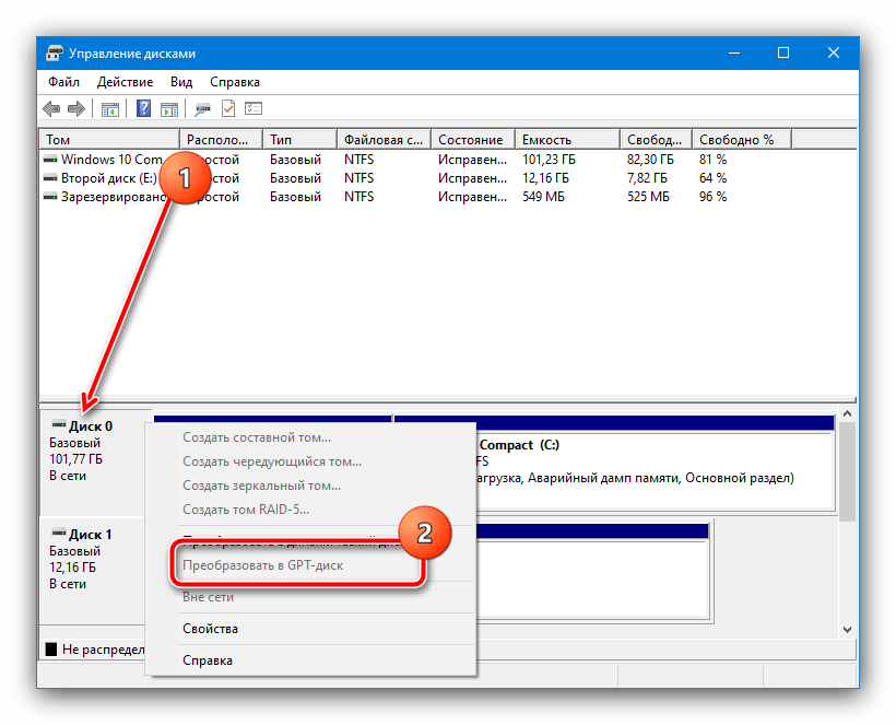 Проверить таблицу разделов для устранения ошибки «Не удалось обновить раздел зарезервированный системой» в Windows 10