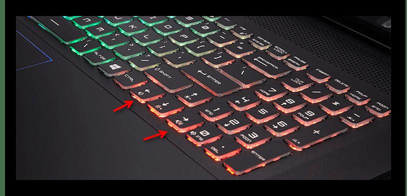 Второй вариант использования функциональных клавиш для увеличения громкости на ноутбуке с Windows 10
