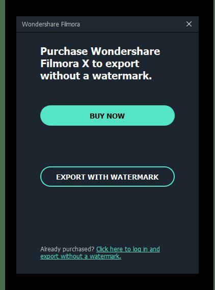 Выбор версии программы для обрезки видео на компьютере через Wondershare Filmora