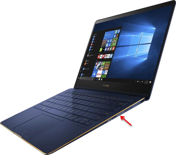 Физические кнопки на устройстве для увеличения громкости на ноутбуке с Windows 10