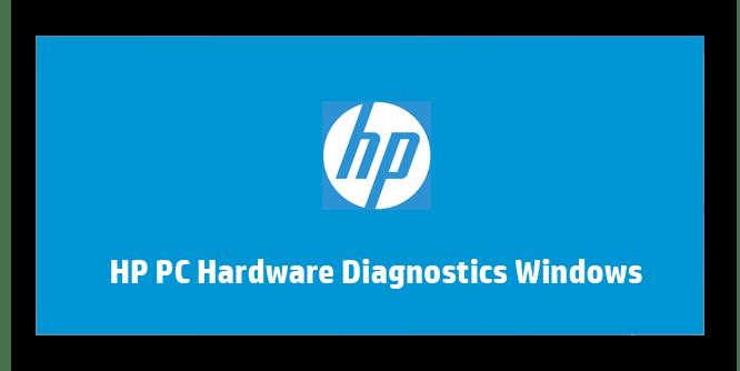 Загрузка программы HP PC Hardware Diagnostics Windows на ноутбуке HP для проверки работоспособности тачпада