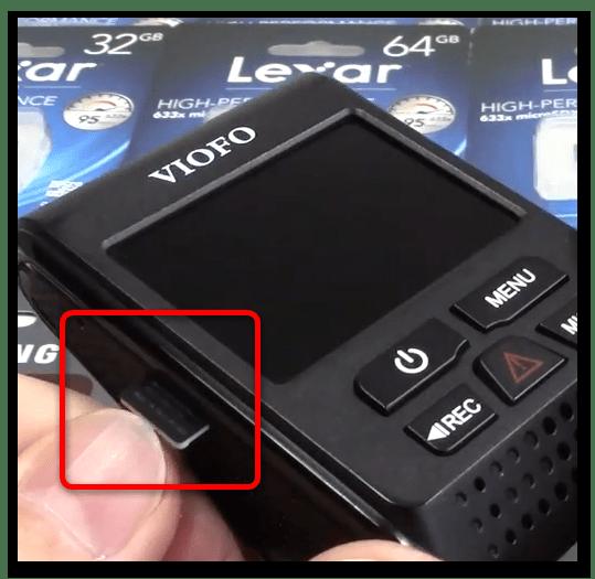 Форматирование карты памяти для видеорегистратора