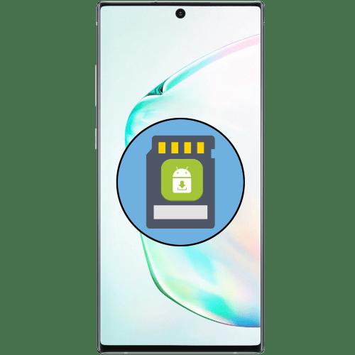 как скачать приложение на карту памяти samsung
