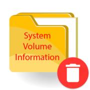 Как удалить System Volume Information с флешки