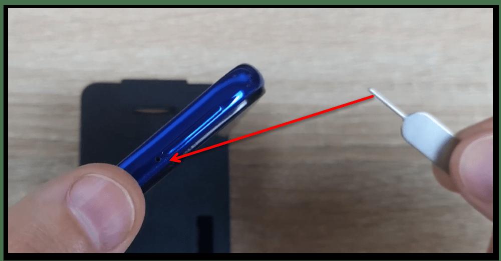 как вставить карту памяти в телефон-8