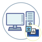 Как отобразить языковую панель на рабочем столе