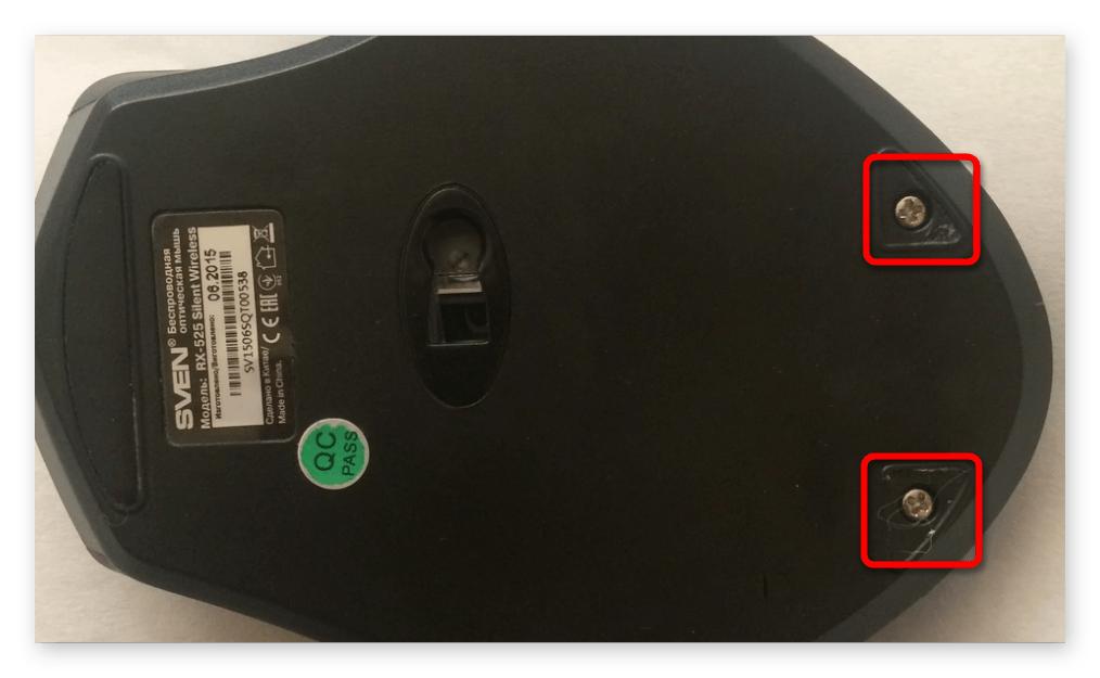 как разобрать компьютерную мышь-001