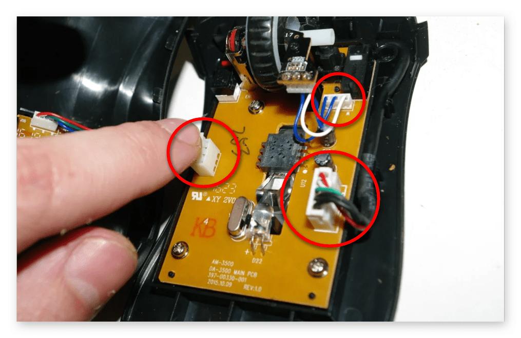 как разобрать компьютерную мышь-009
