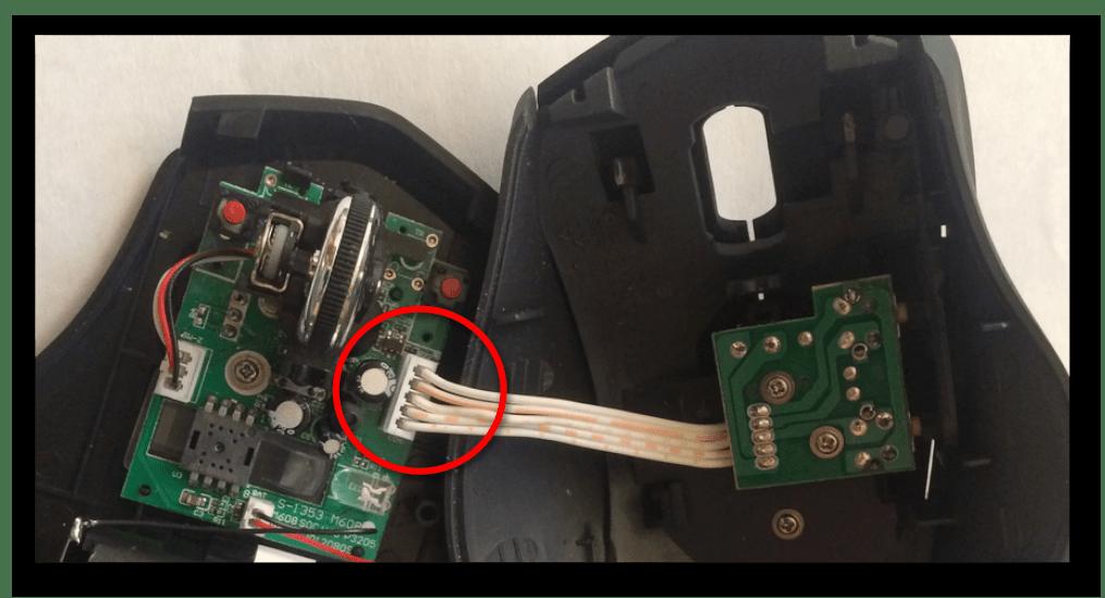 как разобрать компьютерную мышь-5