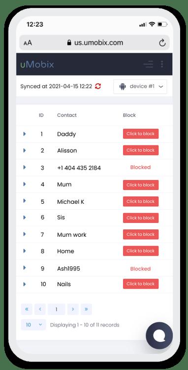 Обзор онлайн-сервиса uMobix_85