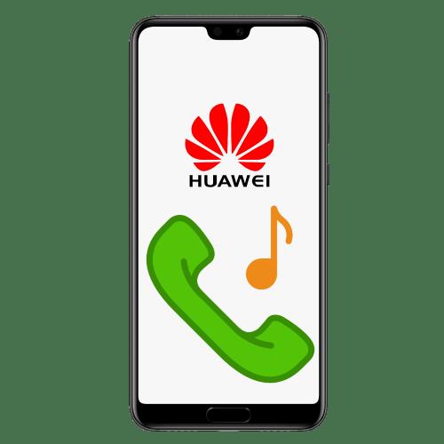 как установить музыку на звонок huawei