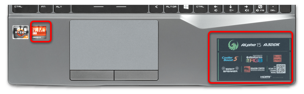 как узнать версию видеокарты AMD-3
