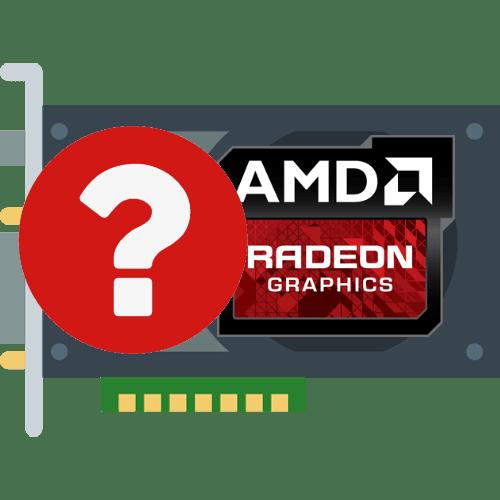 как узнать версию видеокарты AMD