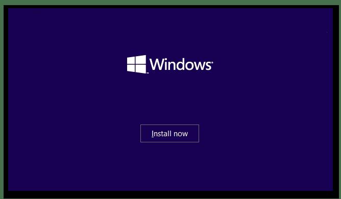 Процесс инсталляции новой Windows