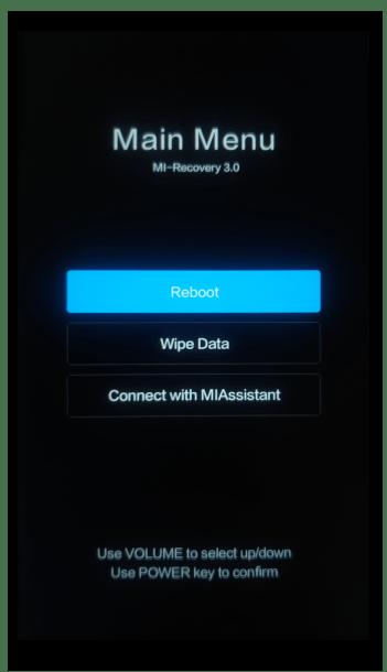 Прошивка Xiaomi через MiFlash PRO 48