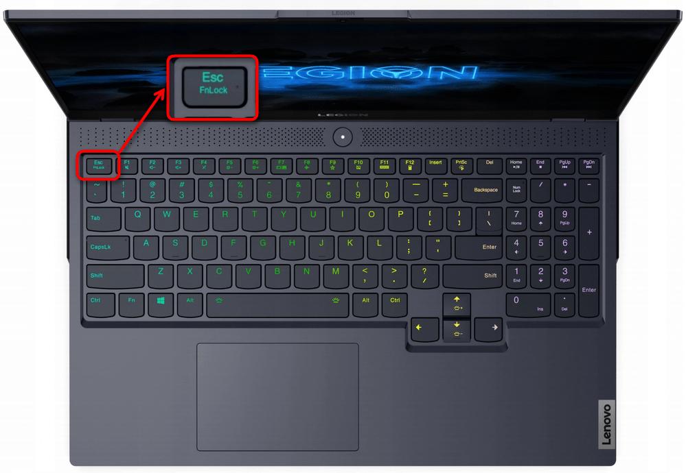 Как отключить Fn на ноутбуке Lenovo-1