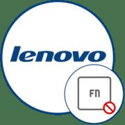 Как отключить Fn на ноутбуке Lenovo
