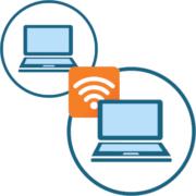 Как раздать интернет с ноутбука на ноутбук_logo