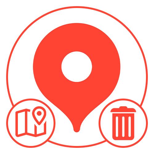 Как удалить загруженные карты в Яндекс Картах