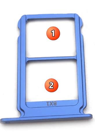 как вставить сим-карту в хонор 10-3
