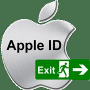 Как выйти из Apple ID_000