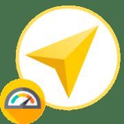 Яндекс Навигатор не показывает скорость