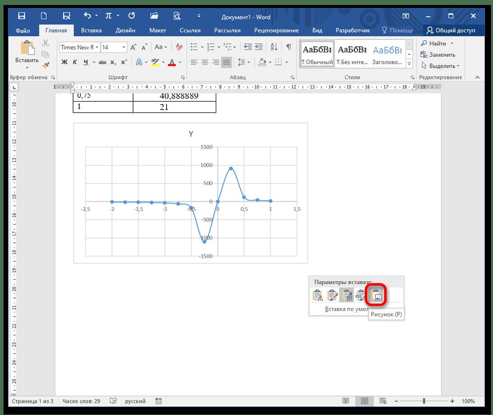 как нарисовать график в ворде_22