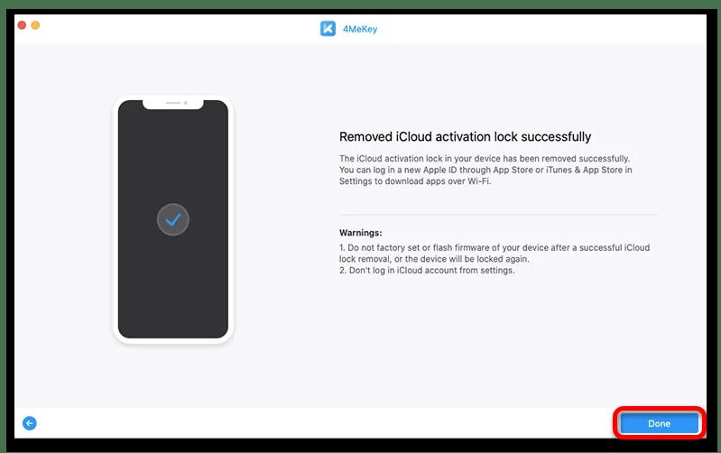 Лучшая программа для разблокировки iCloud_020