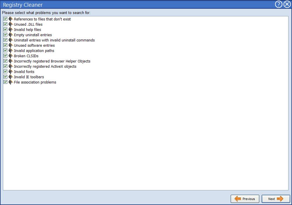 Поиск и устранение проблем в реестре в Advanced Uninstaller Pro