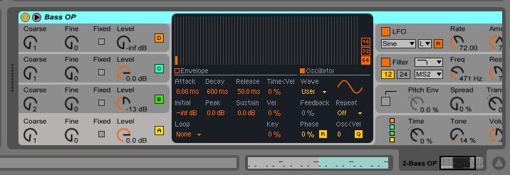 Инструменты в Ableton Live
