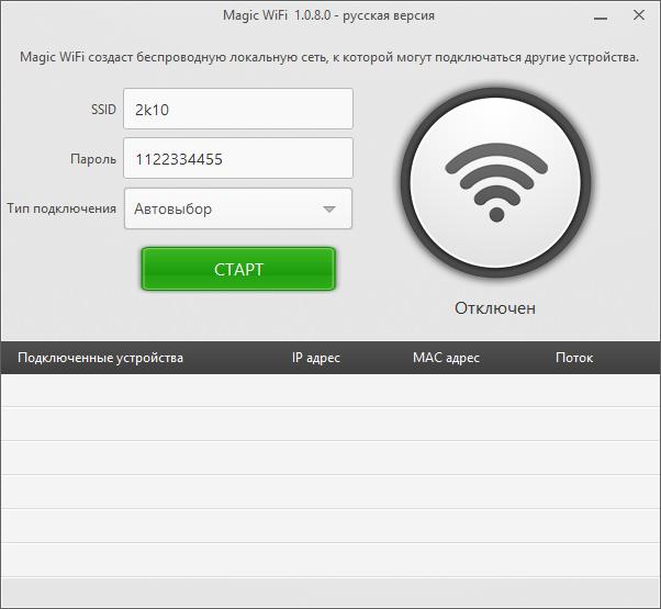 Magic WiFi - скачать бесплатно Мэджик Вай Фай