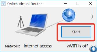 Простая процедура старта беспроводной сети в Switch Virtual Router