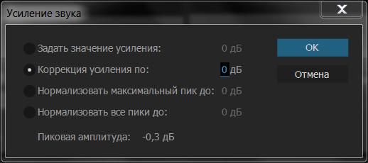 Усиление звука в Adobe Premiere Pro