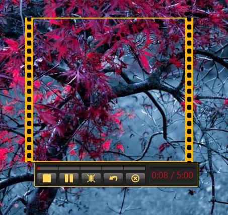 Запись видео с экрана в Jing
