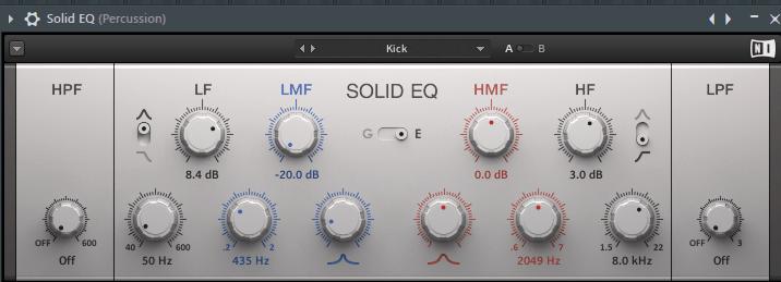 эквалайзер в FL Studio