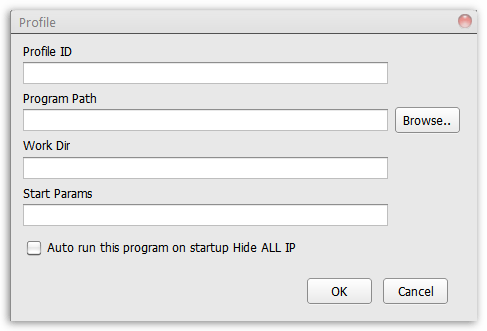 Добавление профилей в Hide All IP