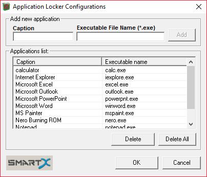 Добавление программ для блокировки в AppLocker