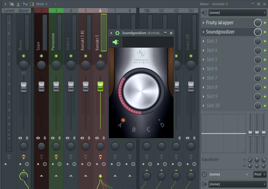 Эффект в FL Studio