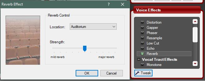 Эффекты в MorphVox Pro