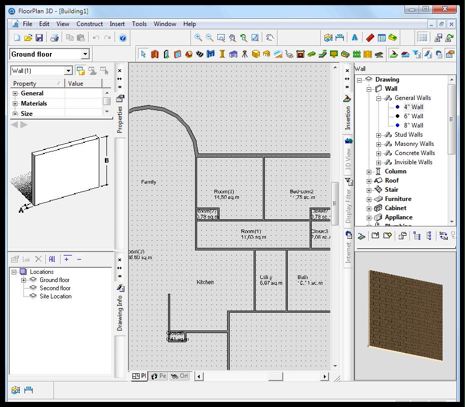 FloorPlan 3D - скачать бесплатно ФлорПлан 3Д
