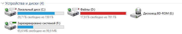 HDDLife Pro статус дисков в этом компьютере