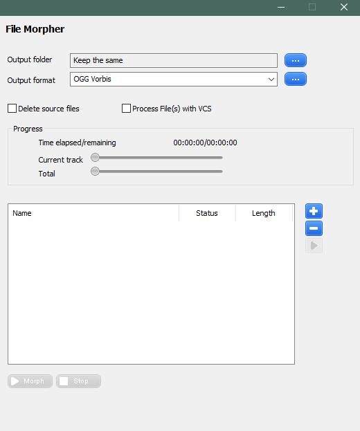 Изменение аудиозаписи в AV Voice Changer Diamond
